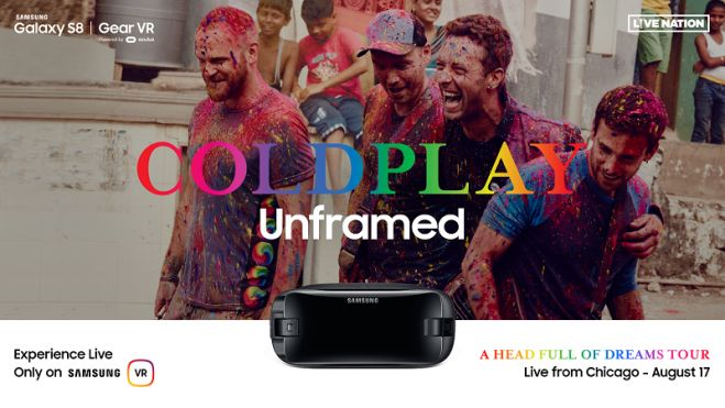 Samsung y Live Nation transmitirán en vivo show de Coldplay en Realidad Virtual (video)